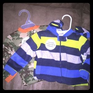 NWT Boys sleepers size 3-6 month